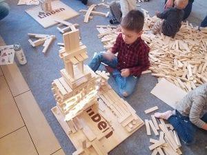 budowanie z klocków