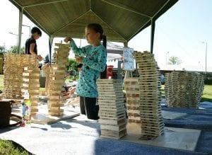 budowanie z klocków linden