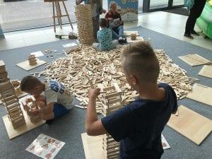 warsztaty budowania z klocków linden