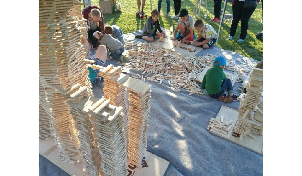 klocki drewniane edukacyjne