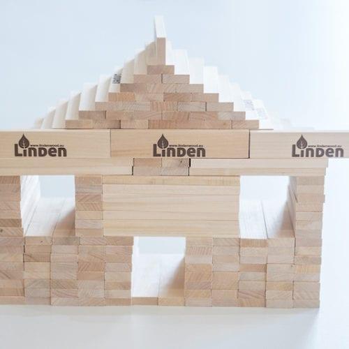 Drewniane klocki Linden to pasja i pomysłowość