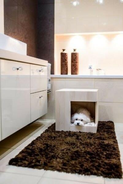 Drewniany domek dla psa i zwierząt